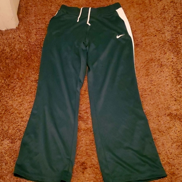 Nike women med thick Jersey pants rare